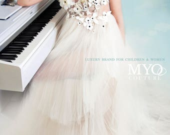 Couture Ivory gown, Wedding dress