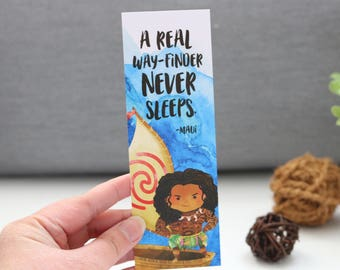 A Real Way-finder Bookmark - Polynesian Princess