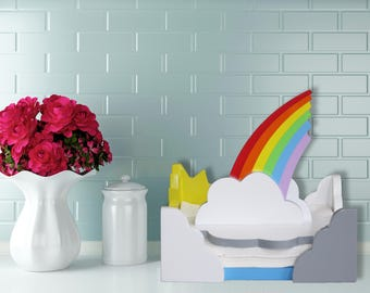 NEW!   Rainbow Napkin Holder