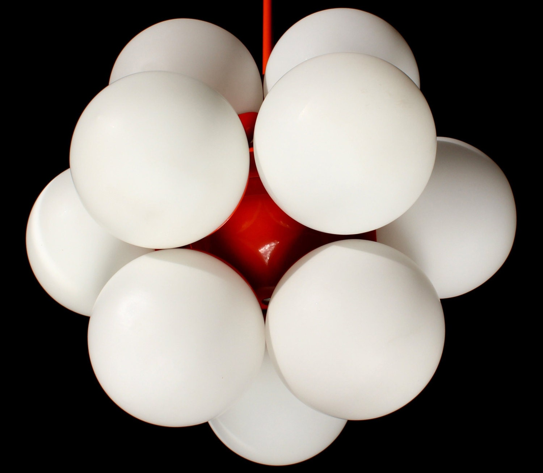 ORANGE KAISER ATOMIUM Sputnik excellent vintage by GRAFvonBRUECK