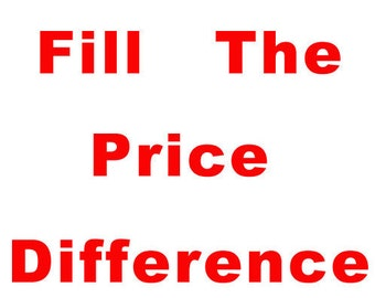 Fill the Price Difference