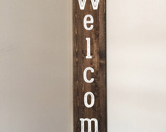 Welcome Sign//Rustic Welcome Sign// Rustic Sign//Front Porch Sign//