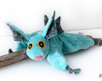 Dragon blankie - Stuffed Animal - Baby Shower Gift - Baby gift