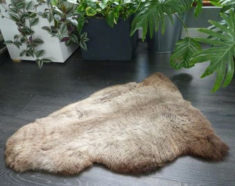 Sheepland British Rare Breed Organic Undyed Pure Sheepskin Rug (5)