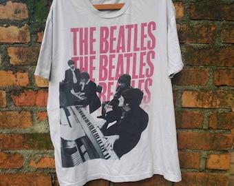 Vintage The Beatles band tshirt