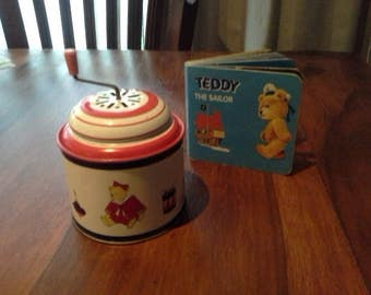 Windup Tin Musical Toy ... Made in Germany 1987