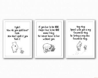 Winnie The Pooh Trio - Love