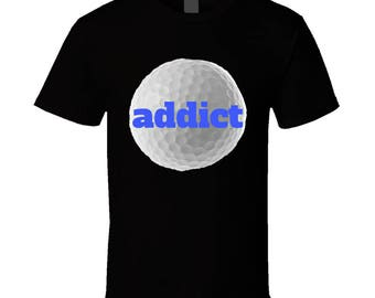 Golf/addict Tee Shirt