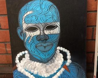 West African tribesman