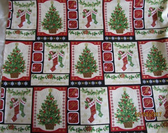 Christmas fabric Holiday Magic by Allison Hayward