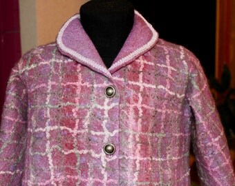 Felted coat
