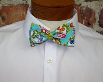 Sugar Skull, Dias de los Muertos Bowtie, Day of the Dead bowtie