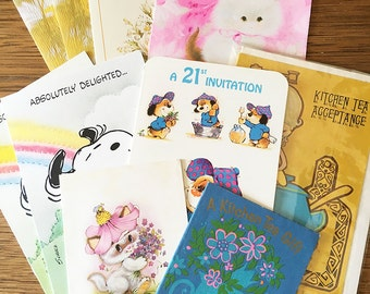 Vintage   Gift Cards   Thank You Cards   Invitations