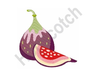 Fig Fruit - Machine Embroidery Design