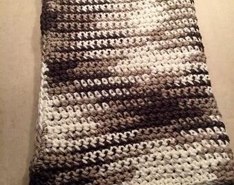 Crochet kitchen towel