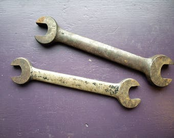 Two Large Billings Antique Open Ended Wrenches – no. 1134 and 1131
