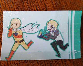 One Punch Lunch Stickers!