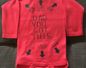 New DAD onesie