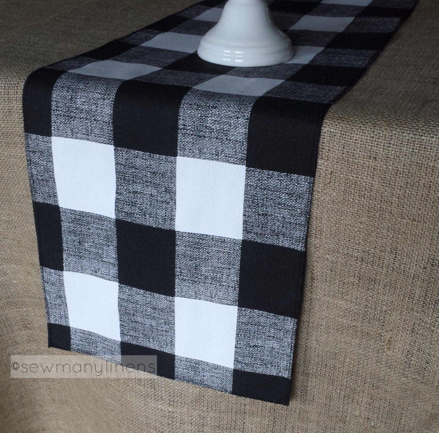 Country Kitchen Ontario Oregon Plaid Table Runner Etsy