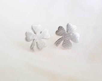 Four-leaf clover clover silver silver |