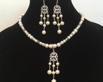 Regal Splendor Necklace and Earrings