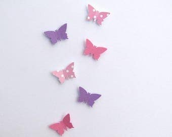 Fairy Door Accessory - 3D Butterfly Wall Art.
