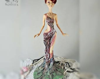 Elegy  Ooak art doll.  decoration interior. Art doll. Oоak doll, doll, art doll ooak, hand made, collector doll,