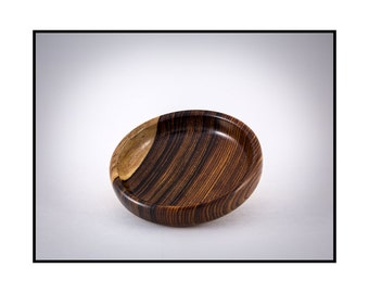 Wooden bowl // Cocobolo Wood // Ring dish // Jewelry Dish // Wooden Bowl // Unique
