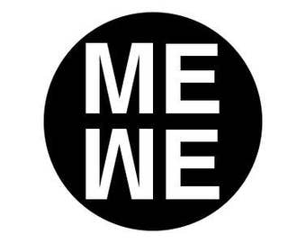 "Me We Ali 1"" pinback button"