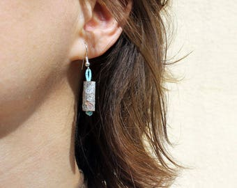 Natural Wooden earrings RAMIK