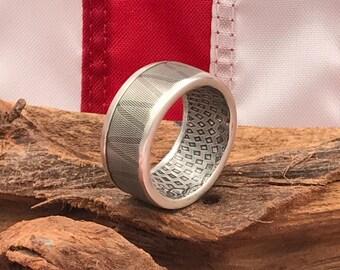 Royal Mint Center Shield  1oz .999 Silver Bullion Coin Ring