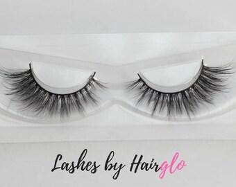 100% Silk Eyelashes, 'Winging It' False Eyelashes, Strip Lashes, Eyelash Extensions, Synthetic Silk, Vegan