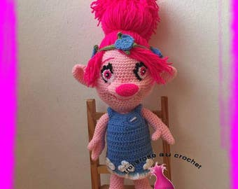 pattern / poppy trolls crochet tutorials