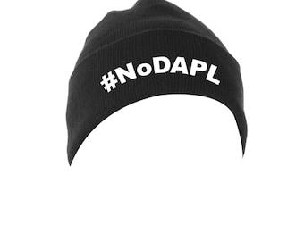 standing rock #nodapl beanie hat water is life water protectors divest