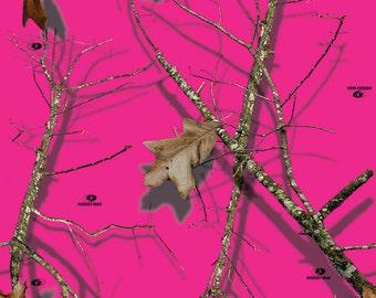 Mossy Oak Break-Up Lifestyle Pink Camo Vinyl Roll - Outdoor Adhesive Camo Vinyl Wrap - Vinyl Sheets by Mossy Oak Graphics