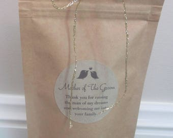 Sugar Scrub Mother of The Groom Gift/ Man of My Dreams/ Parent Wedding Gift/ Mum Wedding Gift/ Mother in Law Gift/ Mum of Groom/ Thank You