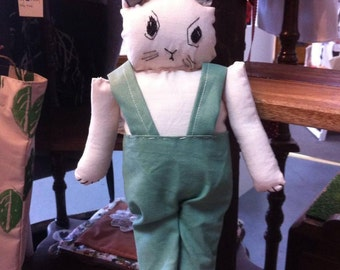 Moody Rabbit Doll