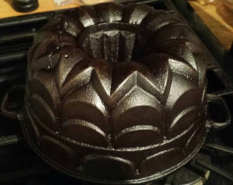 German Bundt pan, Royal Prince, Cast iron