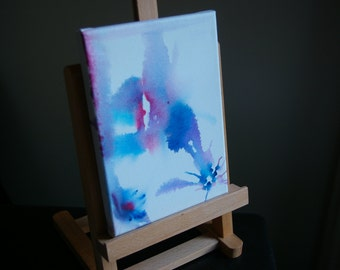 Watercolour canvas - Example of bespoke piece