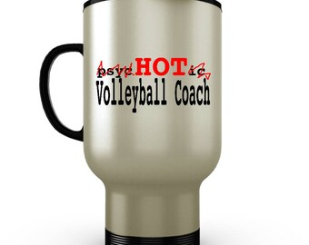 Volleyball Tumbler, Volleyball Gifts, Volleyball Coach Gifts, Personalized Travel Mug, Volleyball Team Gifts, Volleyball Coach, Tumbler