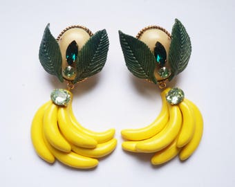 Bananas earrings