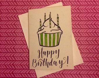 Happy Birthday - A6 card