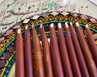 Calligraphy Reed Pen Qalam Kalam Pen Arabic Farsi And Urdu 12 units USA