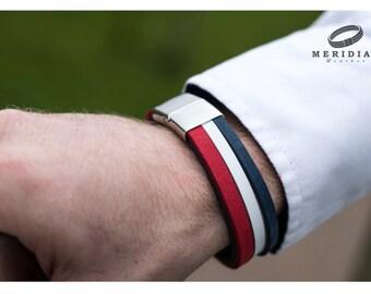 wrap brecelet, boyfriend gift, male bracelet, leather bracelet, gift for him, leather wristband, mens bracelet bracelet for men mens jewelry