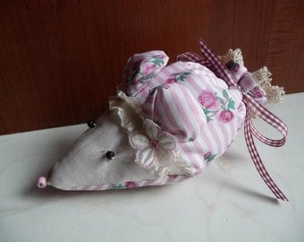 Lavender mouse for a good scent in the House Lavender bag