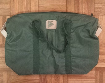 1980's Simpsons Department Store insulated picnic bag - forest green