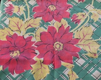 Vintage Floral Cutter Tablecloth