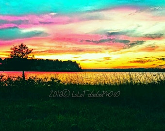 Sunset, Nature, colorful photos, photography, Wall art, photo prints, Sunset Photos, travel photos, Texas photos, New Orleans Photographer