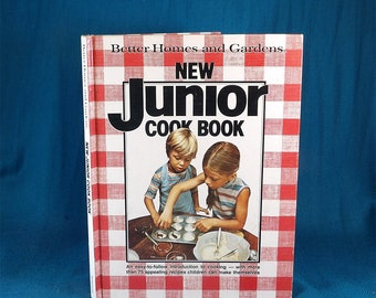 Better Homes and Gardens New Junior Cookbook Children's Cookbook