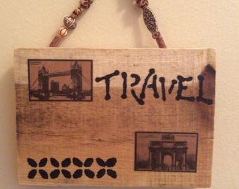 World Traveler Wall Decor